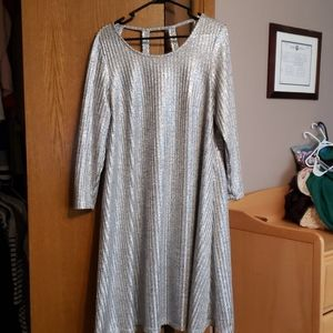 Torrid Silver Dress